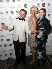 Pictured Michál Lis from the Westbury Hotel, Lisa Doyle from Bloom Gin and Viktorija Jakovickaite from Bow Lane Social. Viktorija Jakovickaite and Michál Lis won Best Dressed Lady and Man