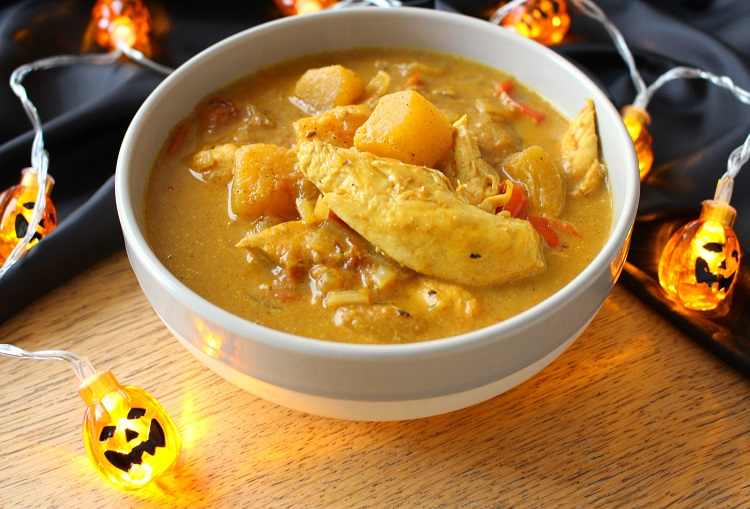 Chicken and Pumpkin Curry Recipe 1