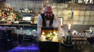 Darren Geraghty from Candlelight Bar at Siam Thai 14