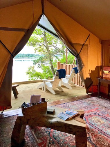 Dromquinna Manor Luxury Camping Interior3 TheTaste.ie