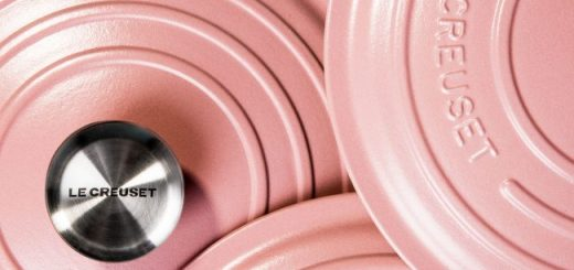 Le Creuset New Pink Range