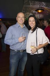 Pictured are Kevin and Caitriona Moloney at a special event celebrating 5 years at Marco Pierre White Courtyard Bar & Grill in Donnybrook. Picture Conor McCabe Photography.