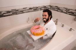 Doughnut Disturb: This Hotels Delivers a Giant Doughtnut to your Room