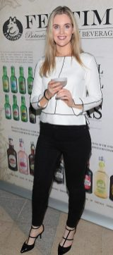 Megan Virgo pictured at the Fentimans Botanical Cocktail Experience at the Opium Rooms,Dublin. Picture Brian McEvoy No Repro Fee