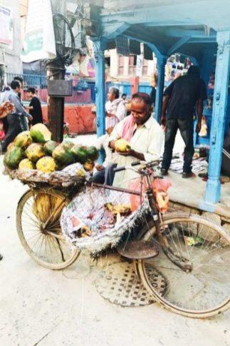 Fruit hawker_Kathmandu