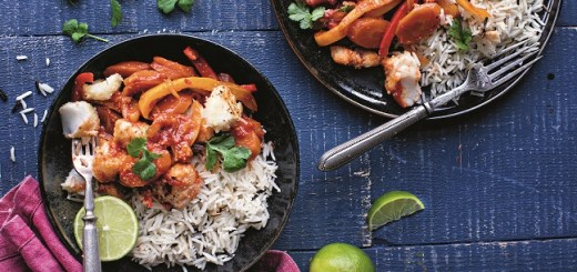 Roz Purcell sweet & sour crispy cod