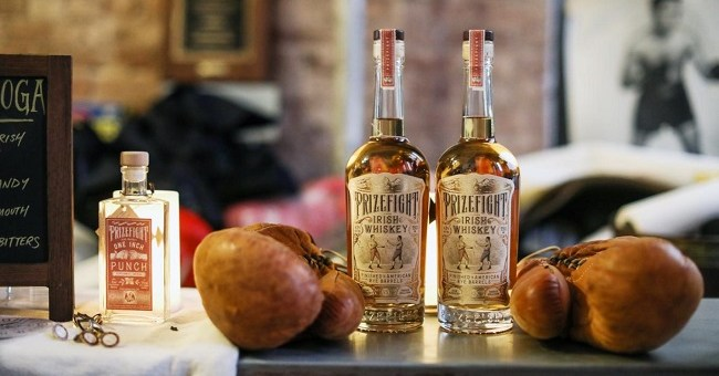 Prizefight Irish Whiskey Just Launched in New York and Boston