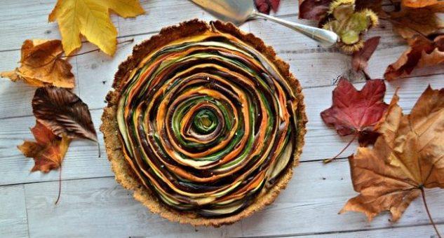 Vegetable Spiral Tart Recipe 4