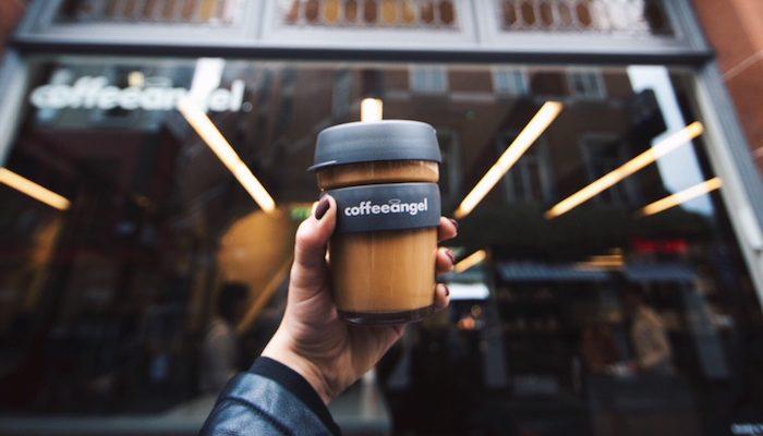 Coffeeangel KeepCup takeaway cup waste