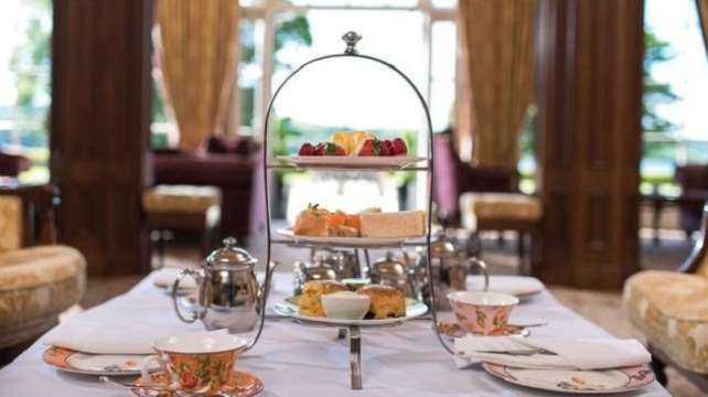 Win a Luxurious Festive Afternoon Tea for Two People at Lough Erne Resort