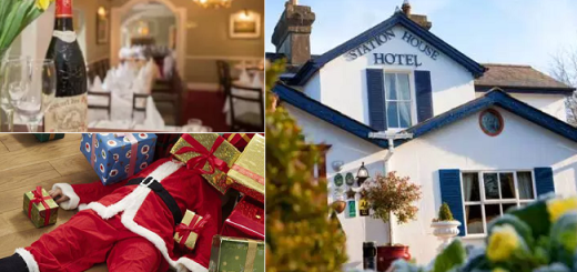 This Award-Winning Hotel is Hosting a Christmas Themed Murder Mystery Dinner Party