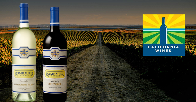Win 6 Bottles of Premium California Wines from the Award-Winning Rombauer Vineyards