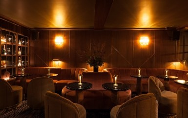 9 below front bar Dublin's Most Luxurious Bar Opens Today in the Basement of Stephen's Green Hibernian Club
