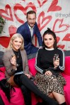 First Dates maître d' Mateo Sania is pictured with Niamh Cullen and Aideen Murphy at the launch of First Dates Restaurant at the gibson hotel. The First Dates Restaurant is open from Thursday – Saturday nights (inclusive subject to availability). Visit www.thegibsonhotel.ie for more information on how to book and available dates. Picture Andres Poveda