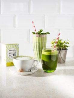 Green & Bean Matcha Drinks