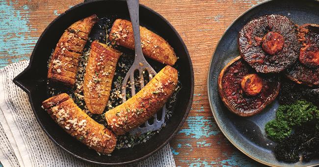 Hasselback steak recipe