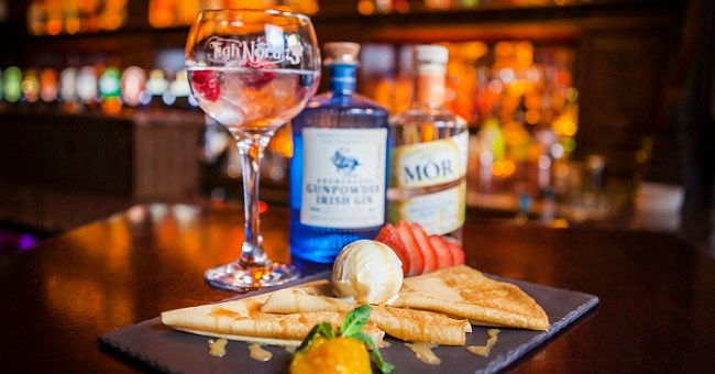 It's a Pancake Tuesday Miracle! This Gorgeous Bar Is Serving Gin Pancakes Today