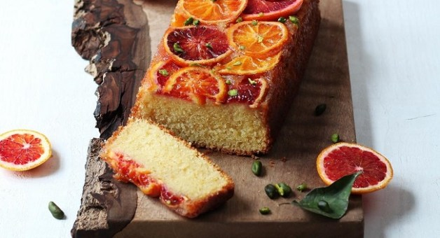 Blood orange buttermilk loaf recipe