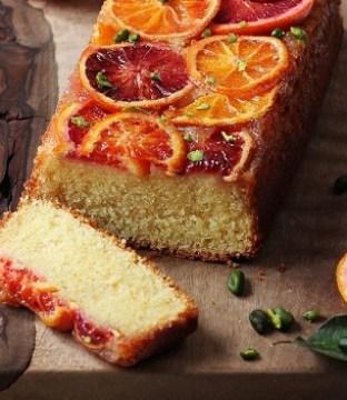 Blood Orange Buttermilk Loaf Recipe by Chef Shane Smith