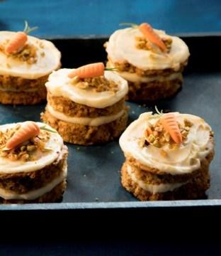 Mini Carrot Cakes Recipe by Siúcra and Catherine Fulvio