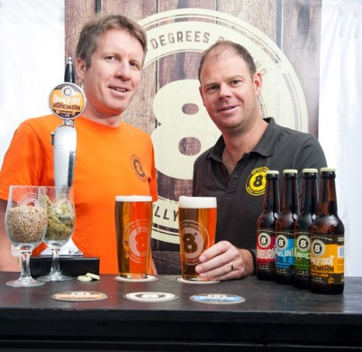 Eight Degrees Brewing - Founder-Brewers Scott Baigent and Cam Wallace (3)