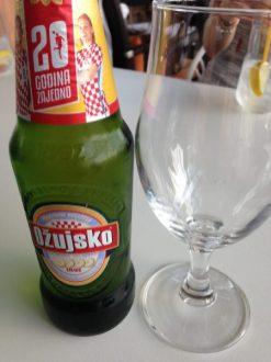 Zagreb Apetit Restaurant beer