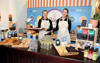 """The launch of Lidl's pop up""""The Bakery"""" in aid of it's charity partner Jigsaw -the national centre for youth mental health at The Mart in Rathmines,Dublin. Pic Brian McEvoy No Repro fee for one use Location addresses and dates : •The Mart, Rathmines Road Lower, Rathmines, Dublin 6: Tuesday 21st August – Thursday 23rd August •East Pier, Dun Laoghaire Harbour, Co. Dublin: Friday 24th August – Sunday 26th August •The Potato Market, Merchants Quay, Limerick: Thursday 30th August – Sunday 2nd September •Cork City Centre between North Main Street and Cornmarket Street: Thursday 6th September – Sunday 9th September The pop up bakery is travelling to the 3 locations in Ireland; Dublin, Limerick and Cork, selling Lidl s delicious bakery goods and encouraging a relaxed environment to speak openly about mental health issues, advice and experiences over a cup of coffee and a pastry. A range of activities that support mental well-being will be also hosted in the evenings such as sing along socials, laughter yoga and acoustic evenings. All proceeds from the events will be donated directly to Jigsaw as well as 1c of every bakery item purchased in Lidl Ireland s 156 stores nationwide. Booking is required for evening activities. Spaces are limited so sign up at https://www.jigsaw.ie/events to avoid disappointment Jigsaw provide free, confidential and professional support to young people between the ages of 12 and 25 in 13 locations nationwide. Lidl Ireland recently announced the launch of a three year partnership with Jigsaw, which saw Lidl pledge to donate €1 million to the charity over the three year partnership. The partnership also aims to raise awareness Jigsaw's #OneGoodAdult campaign. The One Good Adult campaign encourages young people to confide in one adult in their life, be it a parent, sibling or teacher, to gain support and advice. The campaign also encourages listening, encouragement and awareness to become One Good Adult to a young person in their life."""