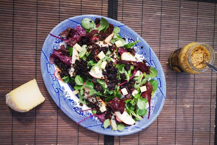 Black Pudding Salad