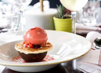 Charolette Quay Strawberry Dessert