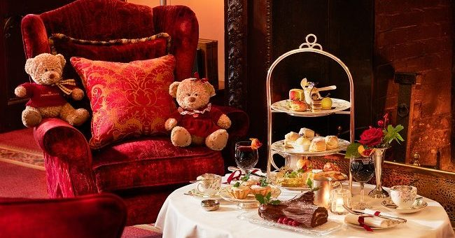 Luxurious Festive Afternoon Tea
