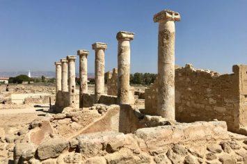 cyprus pillars mosaics