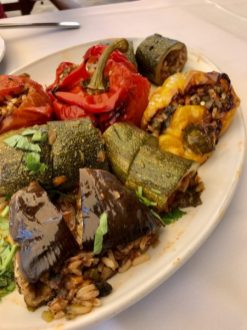 cyprus stuffed veg
