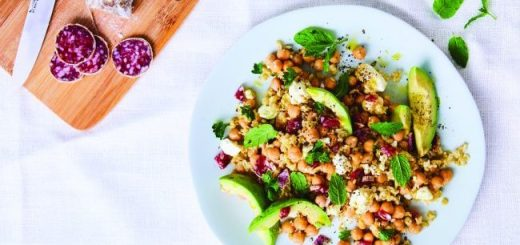 Chickpea And Freekeh Salad Recipe