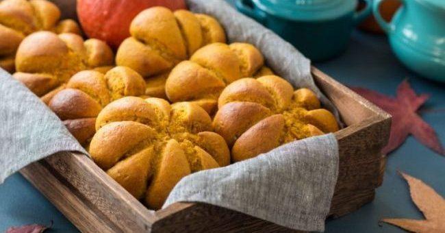 Pumpkin Bread Rolls Recipe