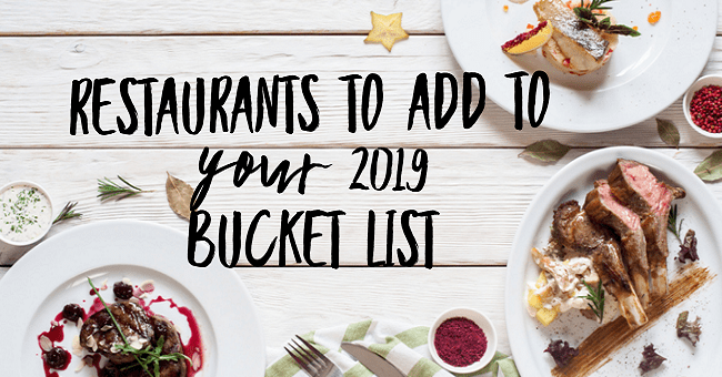 Culinary Bucket List