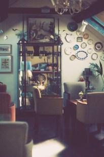 Vintage cocktail lounge