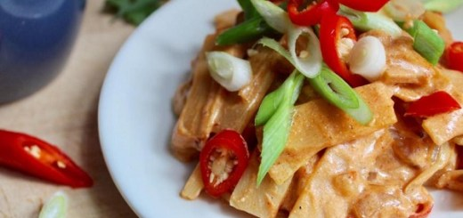 Spicy Bamboo Shoots with Sticky Rice Recipe By The Baking Nutritionist