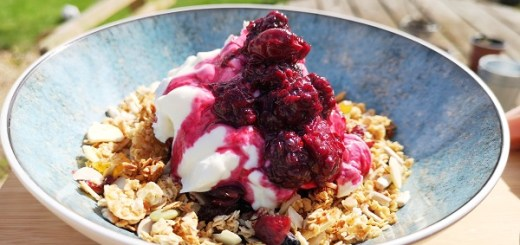 Good For You Granola with Fruit Compote By Savour Food Co.