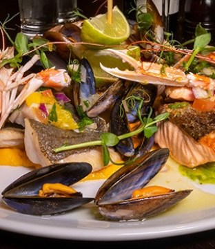 McAllister's Seafood Platter Recipe from Kenny's of Lucan #DubPubDishes