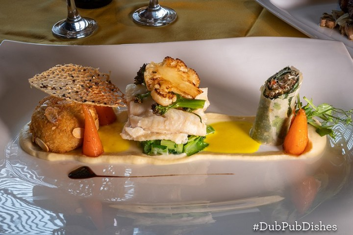 Coconut Poached Fillet of Cod Recipe from The Brock Inn #DubPubDishes