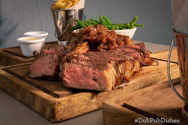 Porterhouse Steak Recipe from The Chop House #DubPubDishes