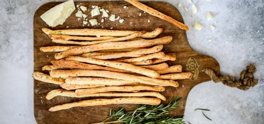 Rosemary & Pecorino Grissini Recipe By Monika Coghlan