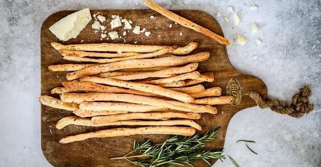 Rosemary & Pecorino Grissini Recipe By Monika Coghlan