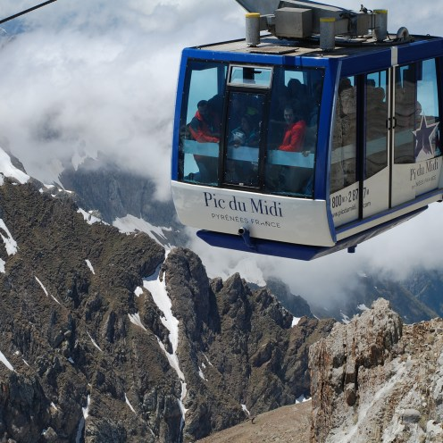 Cable car to the Pic du Midi