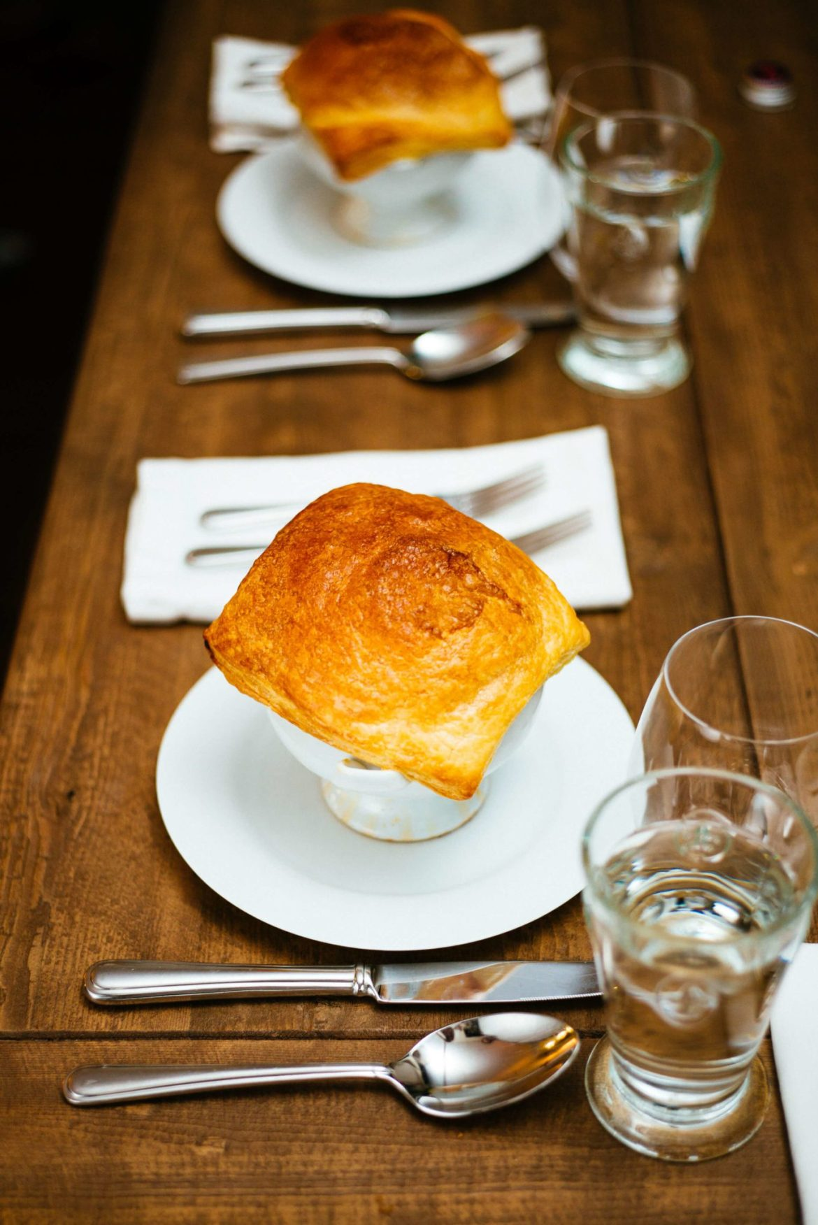 The Taste Edit serves Bistro Jeanty tomato soup with puff pastry