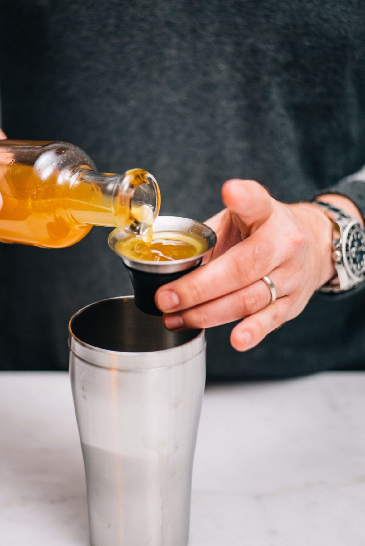 Making individual Fall Classic Cocktails are simple when you pre-mix a large batch with the taste edit