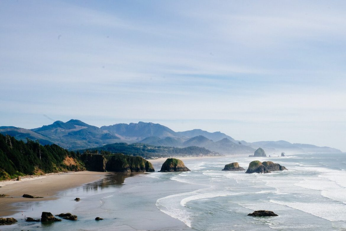 Don't miss out on visiting cannon beach in Oregon when you visit Portland, The Taste Edit