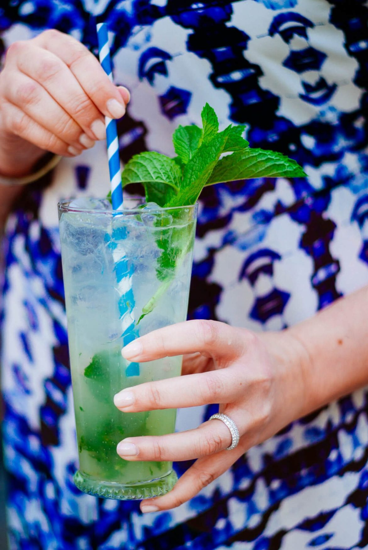 Classic mojitos are easily to make and great for hot summer day