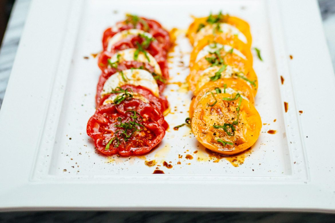 Caprese salad is easy and perfect for a summer dinner or lunch