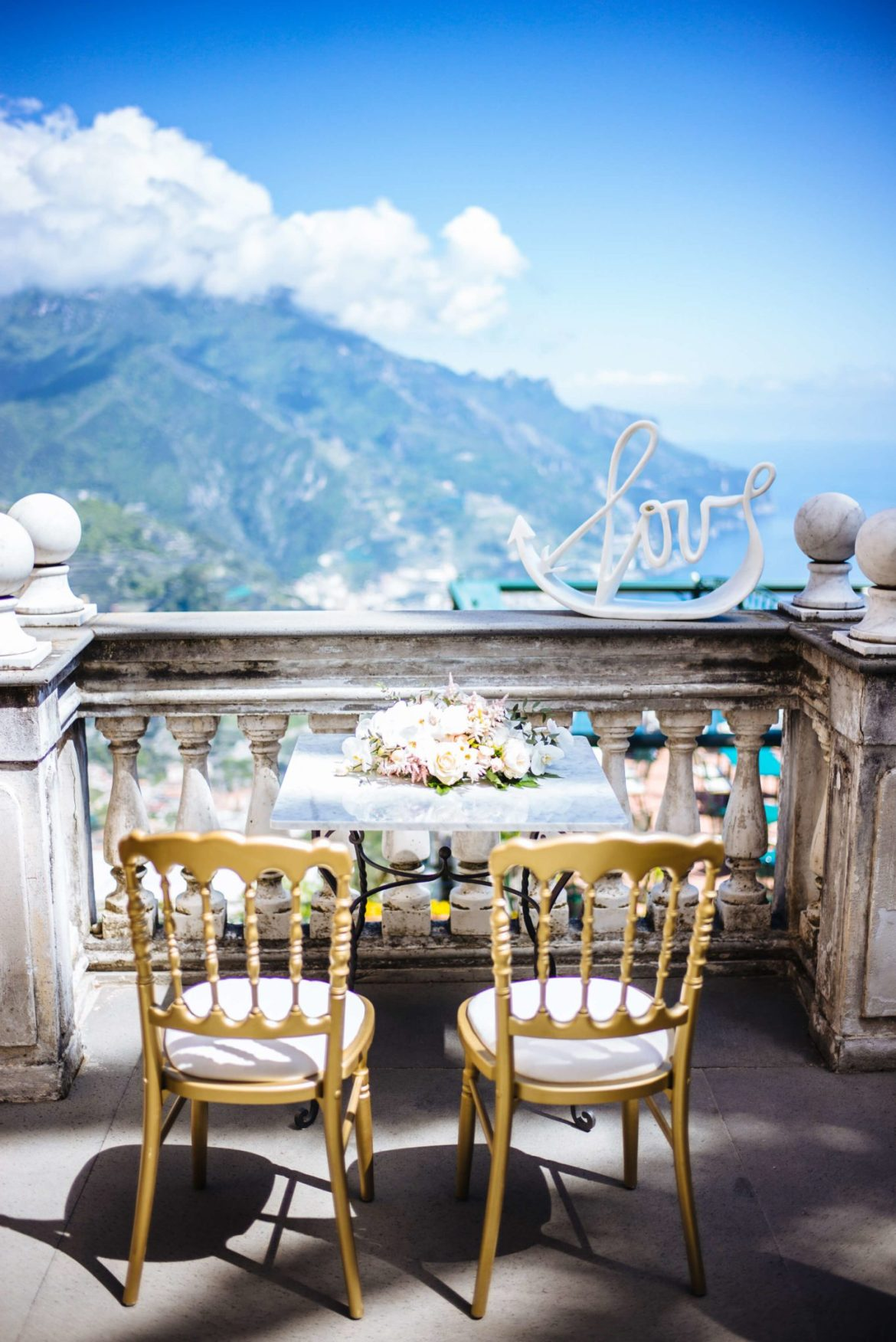 Overlooking the view from Palazzo Avino, the taste edit